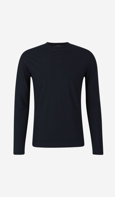 Cotton t-shirt with long sleeves