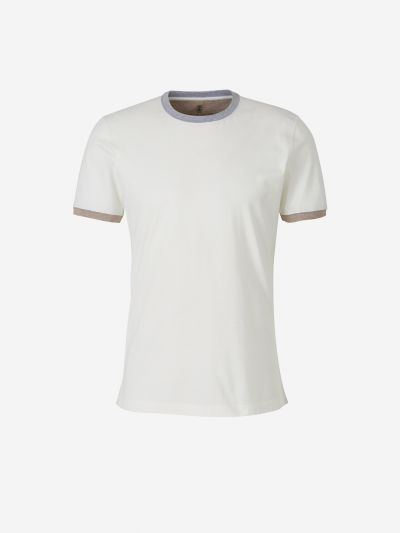 Contrasting Cotton T-shirt