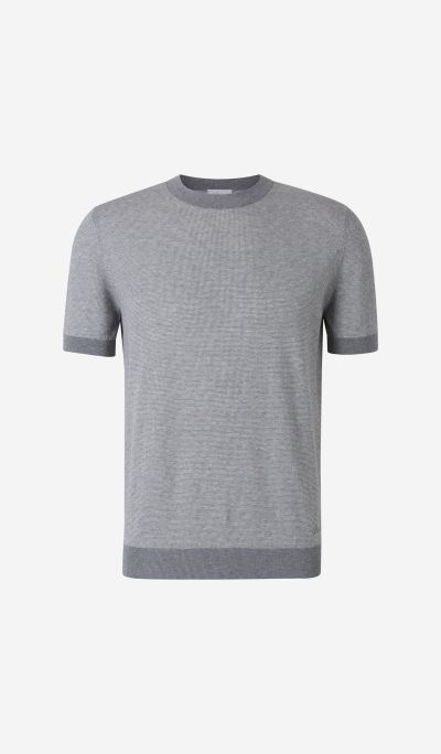 Cotton Knit T-Shirt