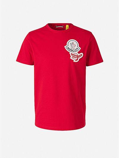 Patch Cotton T-shirt