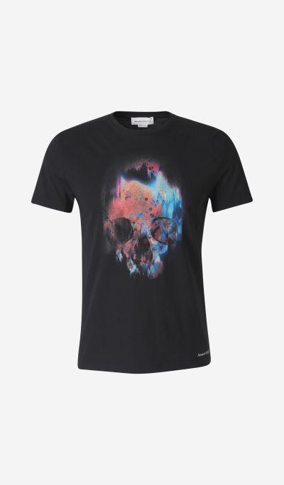 Sprayed skull t-shirt
