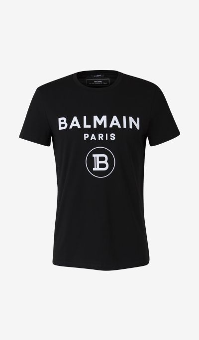 Camiseta Logo Flocado