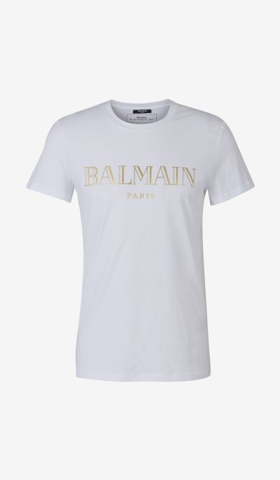 Golden Logo T-Shirt