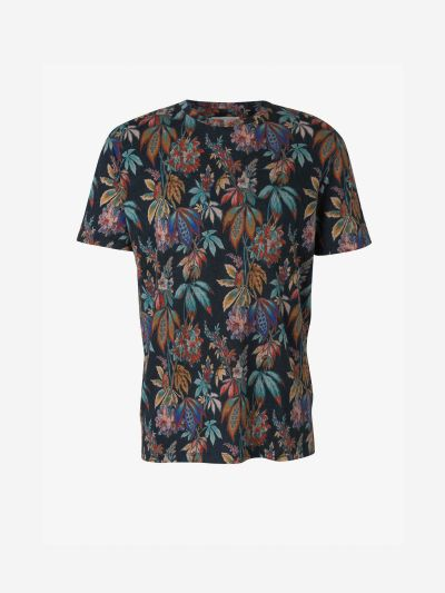 Linen Print T-Shirt