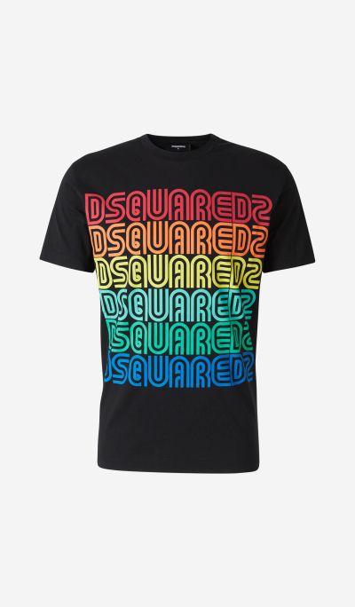 Camiseta Logo Multicolor