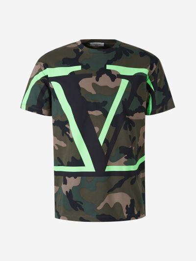 Camouflage VLogo Signature T-Shirt