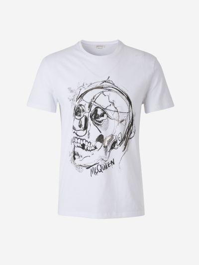 Sketch Skull T-shirt