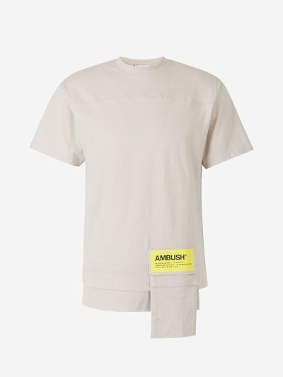 Camiseta Bolsillo Exterior