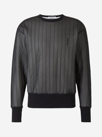 Padded Sweatshirt