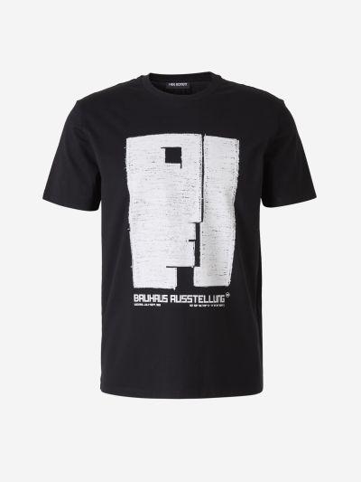 camiseta estampado Bauhaus
