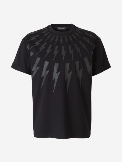 Lightning Bolts Cotton T-shirt