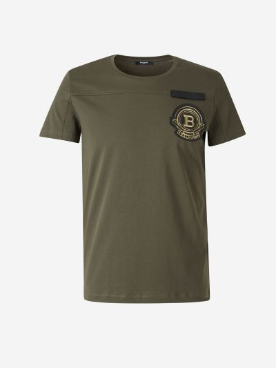 Embroidered Insignia T-shirt