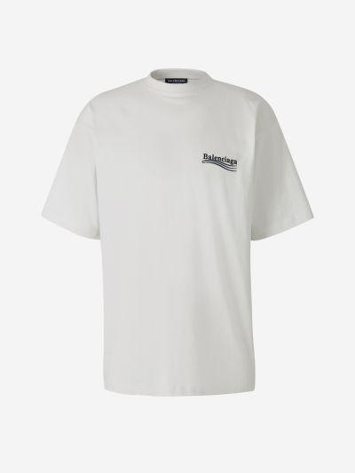 Camiseta Logo Bordado