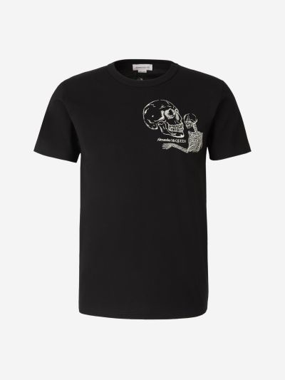 Embroidered Esqueleton T-Shirt