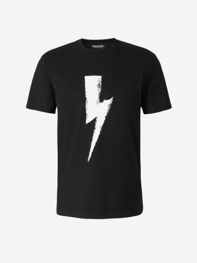 Camiseta Rayo Estampado