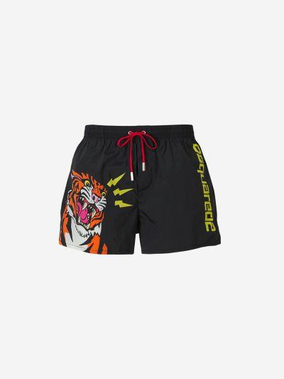 Logo Tiger Swim Shorts