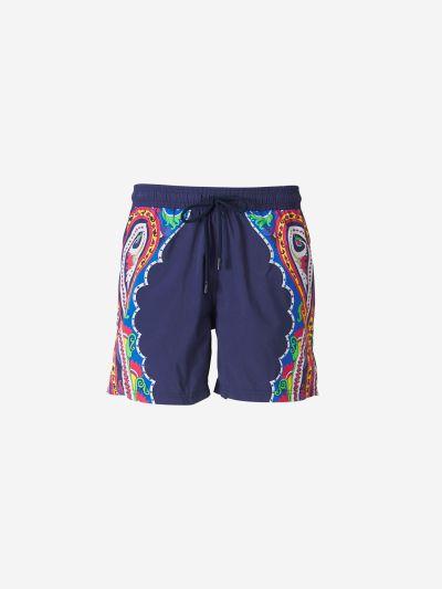 Paisley Print Swimsuit