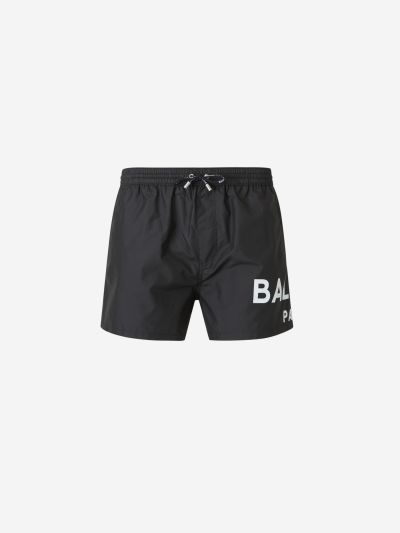 Printed Logo Swim Shorts