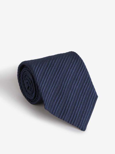 Striped Textured Tie