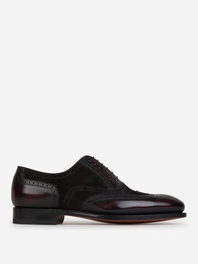 Oxford full brogue shoes