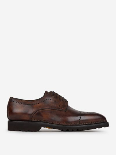 Derby brogue shoes
