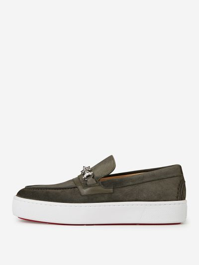 Metallur Suede Loafers