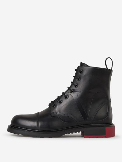 VLogo Combat Boots