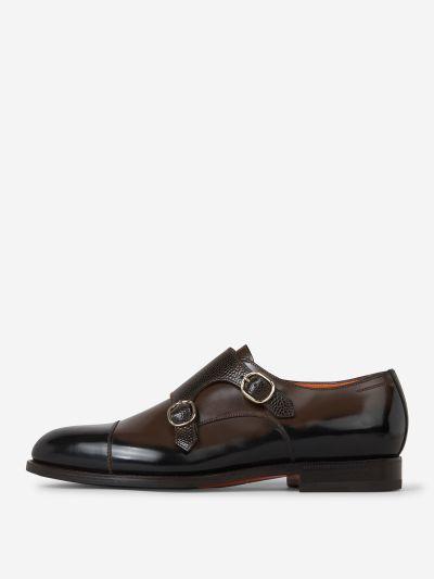 Zapatos Monk Piel