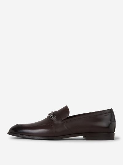 Leather Mask Loafers