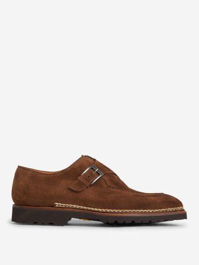 Zapatos Hebilla Ante