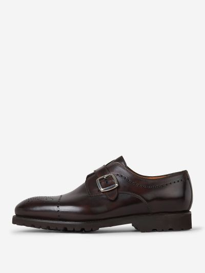 Zapatos Monk Brogue