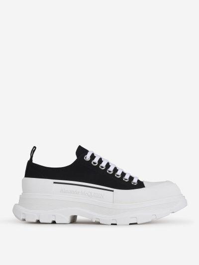 Canvas Tread Slick Sneakers