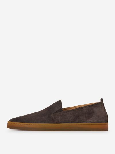 Suede Leather Espadrilles