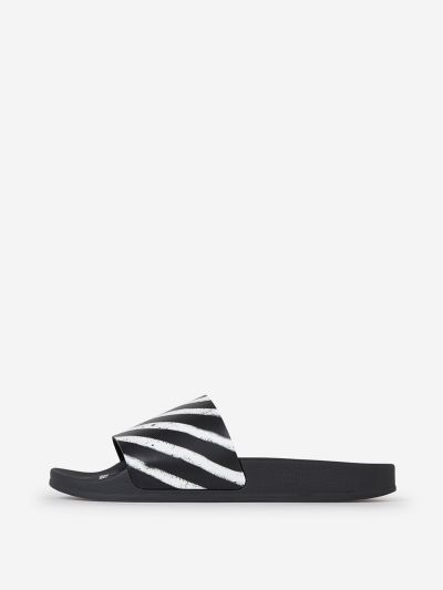 Spray Stripes Flip Flops