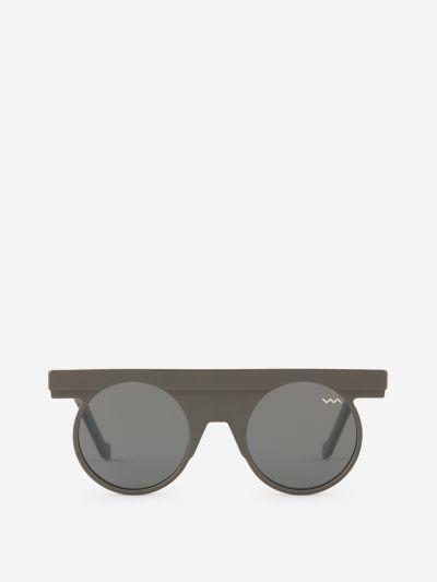 Sunglasses With Straight Bridge