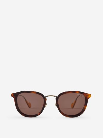 Metal and carey sunglasses