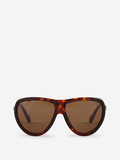 Tortoiseshell Aviator Sunglasses
