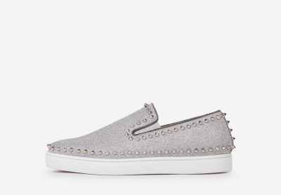 Pik Boat Glitter Sneakers