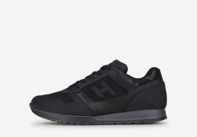 Sneakers Allacciato Bimaterial