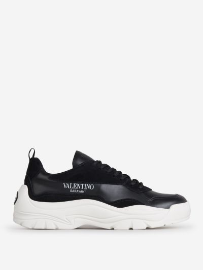 Calfskin Leather Gumboy sneakers