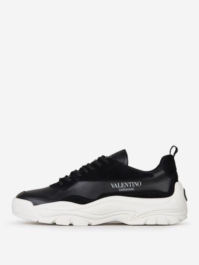 Calfskin Leather Gumboy sneakers