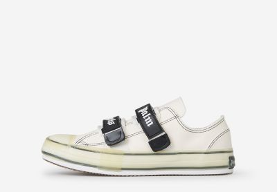 White Vulcanized Sneakers