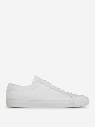 Low-Top Nappa Sneakers