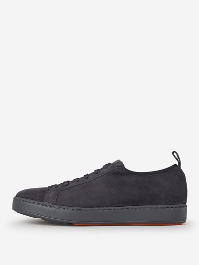 Suede Leather Trainers