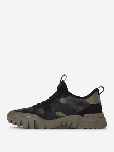 Rockrunner Plus Camouflage Sneakers