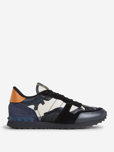 Sneakers Rockstud Camouflage