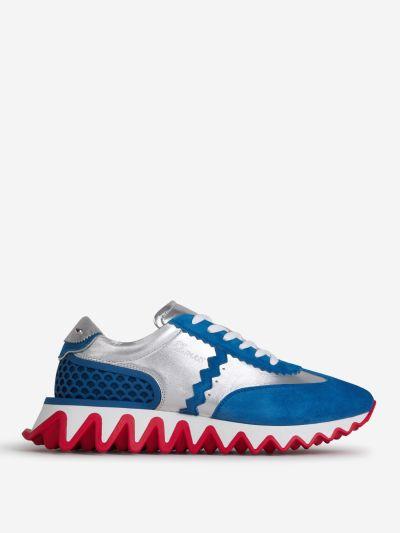 Loubishark Leather Sneakers