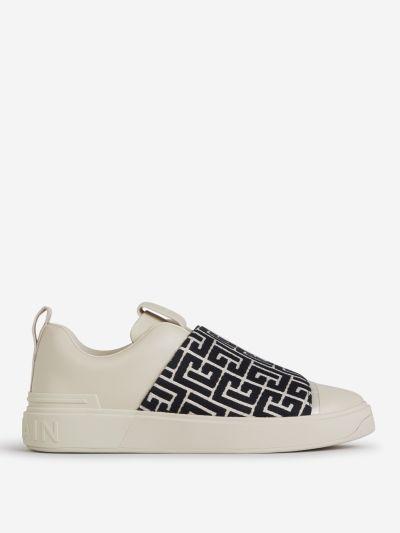 Sneakers Panel Monocromo