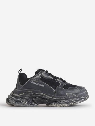 Triple S Faded Sneakers