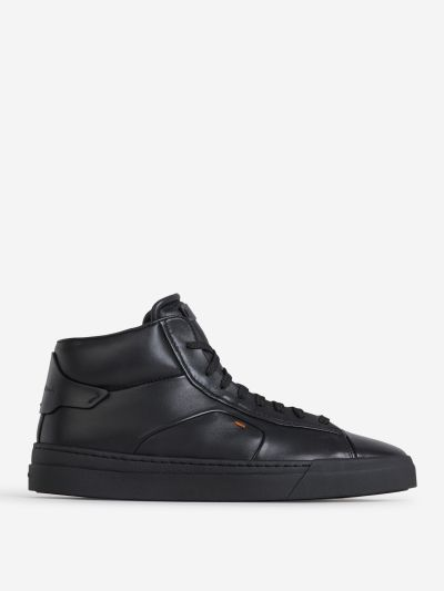 Sneakers Panelled High-Top